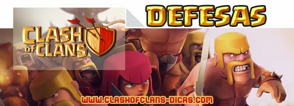 Tudo sobre as Defesas de Clash of Clans