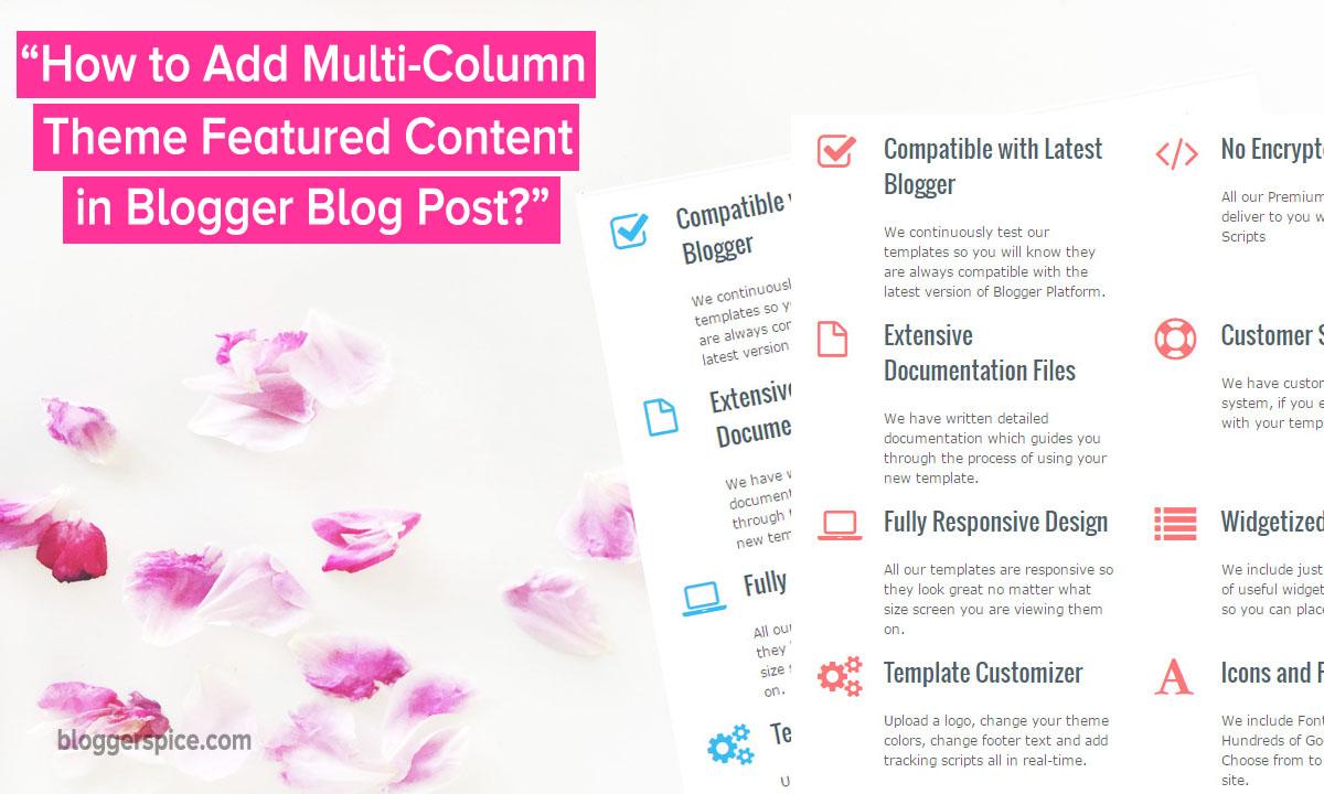 Blogger- columns-plugin-responsive