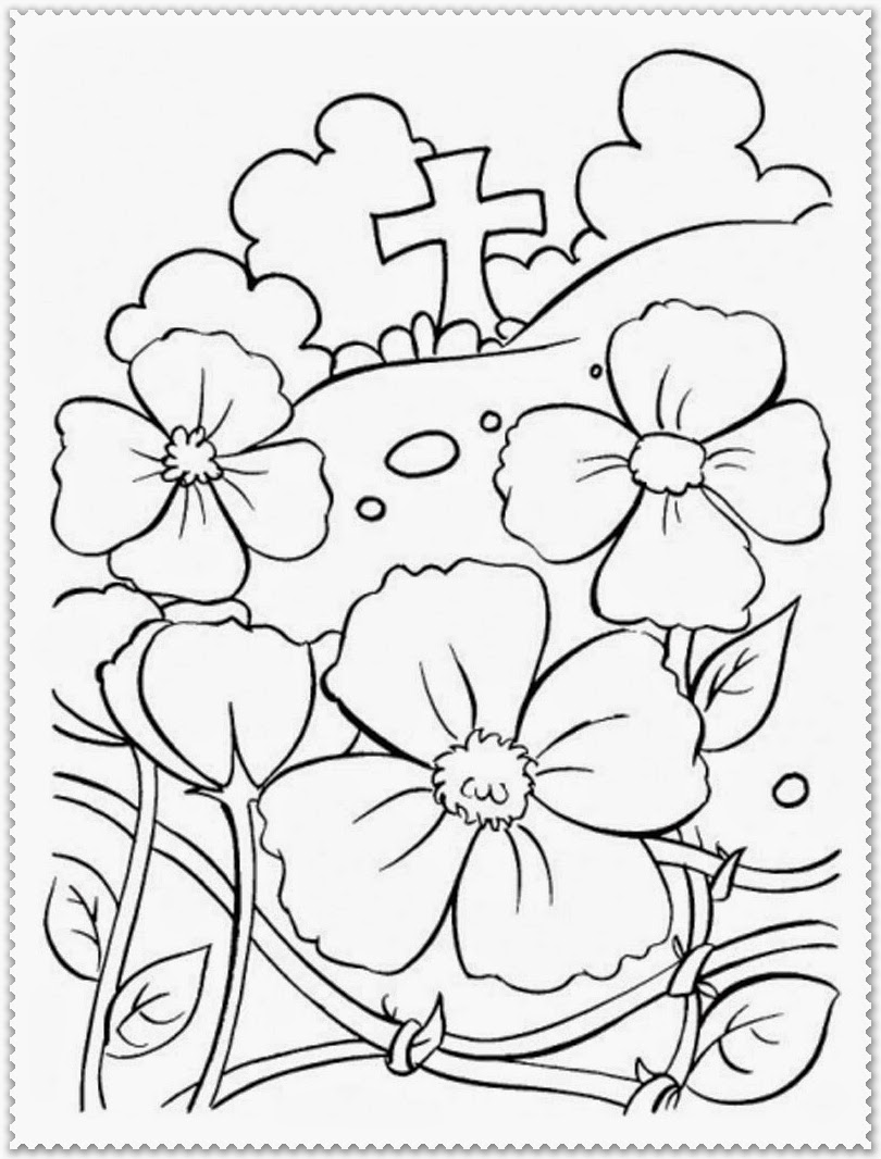 Activity Village Poppy Coloring Pages