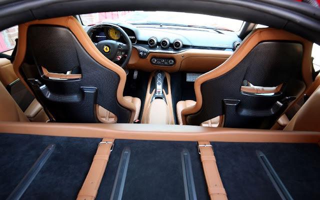 2016 full interior Ferrari F12 Berlinetta