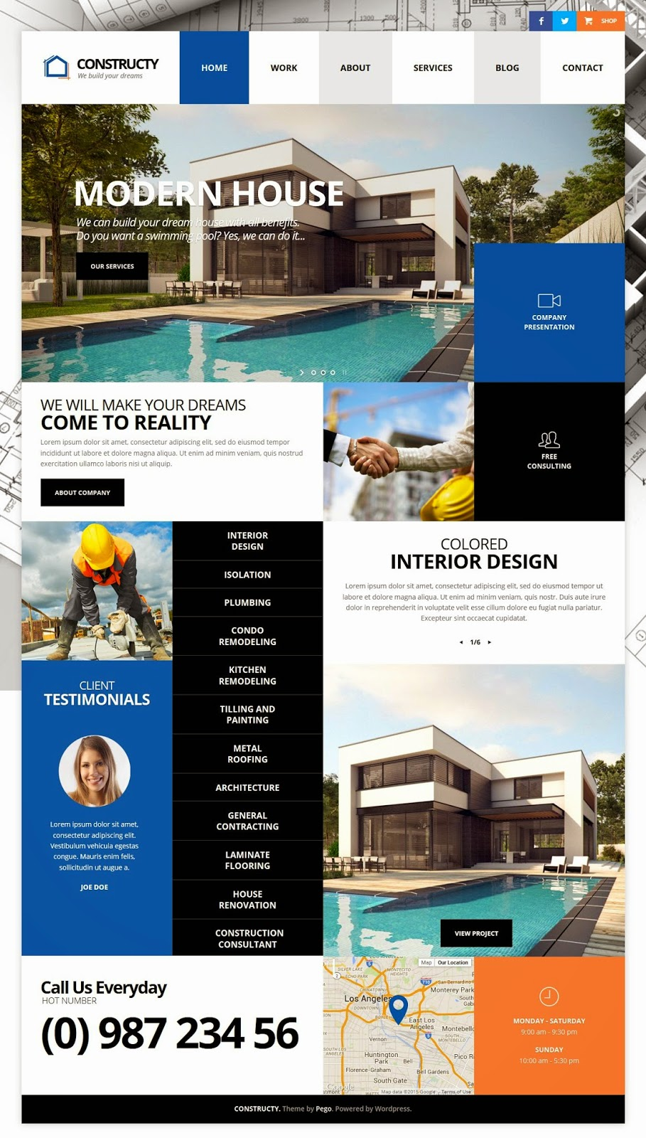 Best Construction Business Responsive WordPress Theme