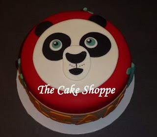 kue ultah kepala kungfu panda