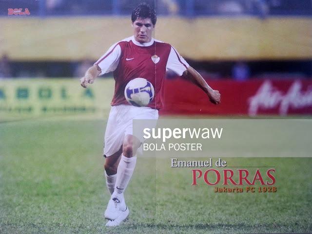 POSTER EMANUEL DE PORRAS JAKARTA FC