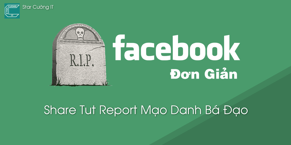Share Tut Report Mạo Danh Bá Đạo