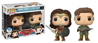 Wonder Woman & Steve Trevor Pop! 2-pack