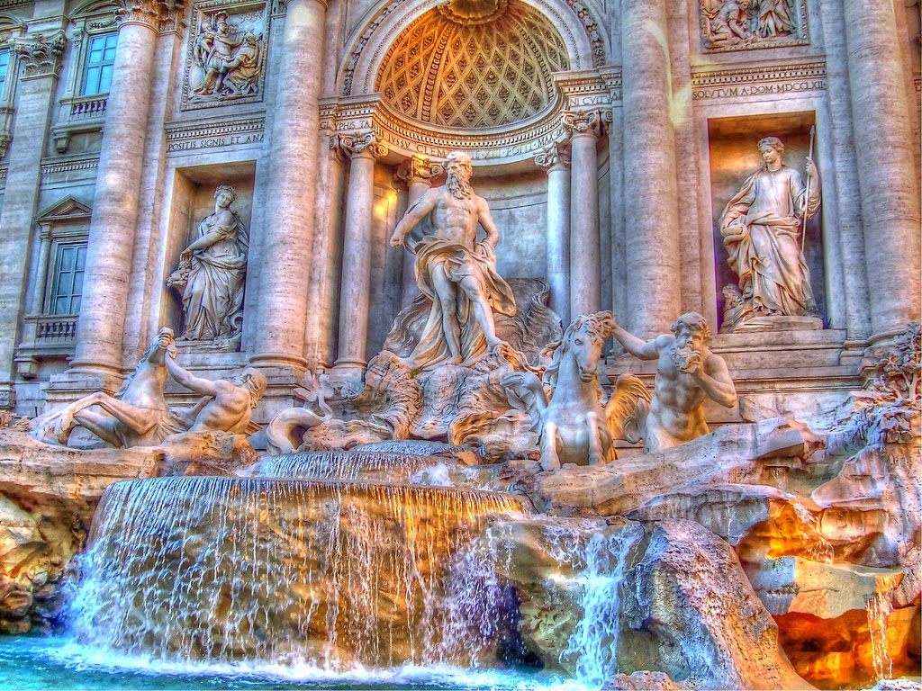 10 Hottest Summer Destinations In Europe   Trevi Fountain,Rome
