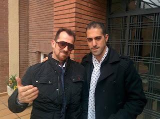 Fotografía de Félix y Víctor del Amo en Madrid.