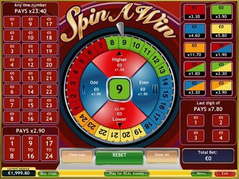 Spin a win càng chơi càng được nhận thưởng