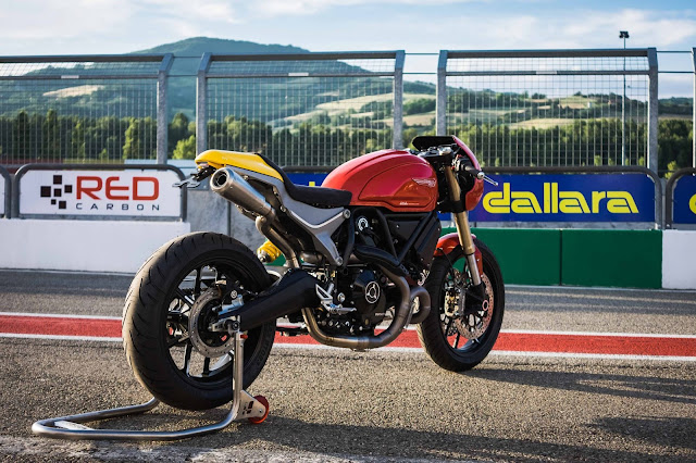 Ducati Scrambler 1100 By DeBolex Engineering Hell Kustom
