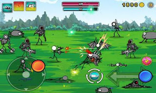 Cartoon Wars: Gunner+ Mod v1.1.1 Apk Unlimited Money Terbaru