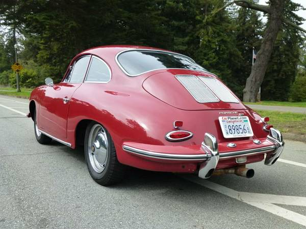 1962 Porsche 356b T6 Super Coupe Buy Classic Volks