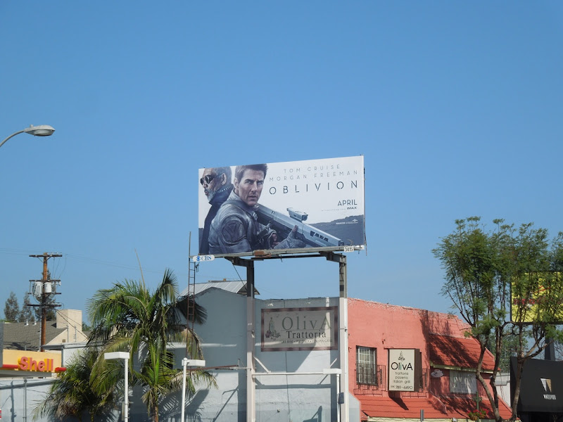 Oblivion movie billboard