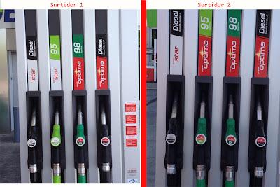Gasolina óptima 95 Cepsa: Confusión por una mala política de marca