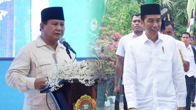 Beda Jokowi dan Prabowo saat di Rakernas LDII