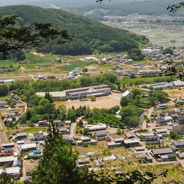 五稜郭展望台 龍岡城 緑