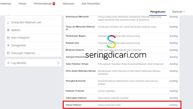 Cara Mudah Hapus Fan Page Facebook Terbaru