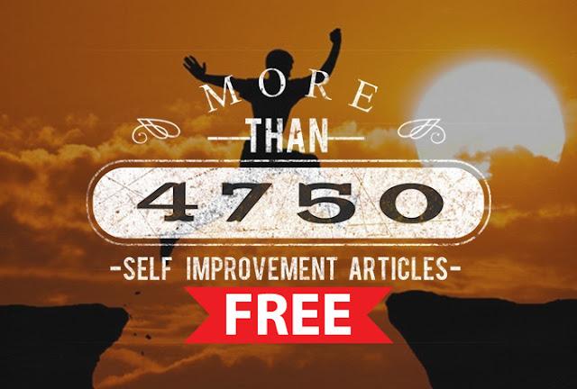 Self Improvement Articles 2017