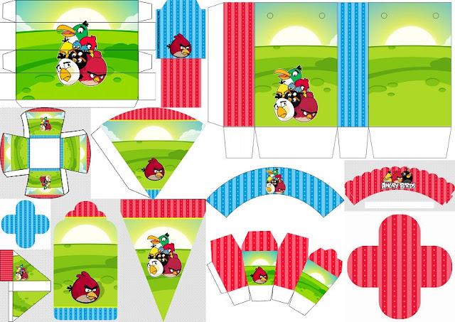 Cumpleaños de Angry Birds: Cajas y Imprimibles Gratis para Fiestas..