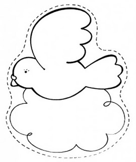 Desenhos De Pombas Para Colorir Espaco Educar