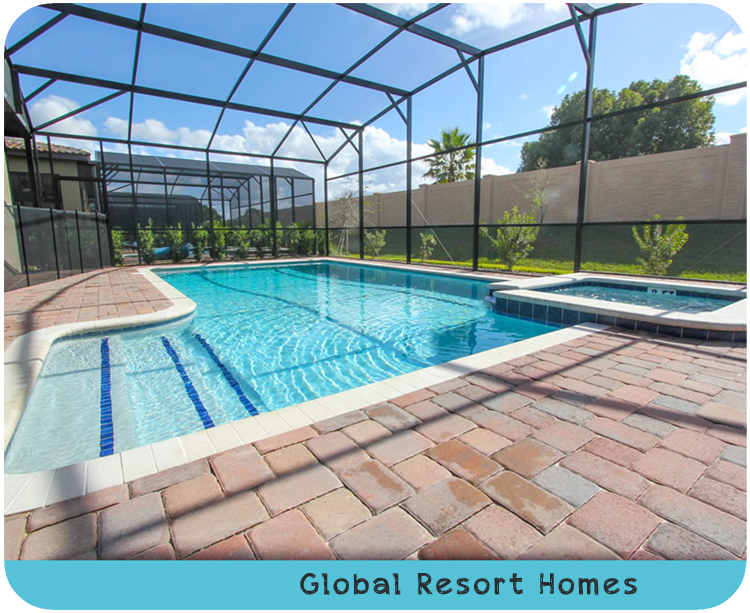 Global Resort Homes Backyard Pool Vacation Rental Review