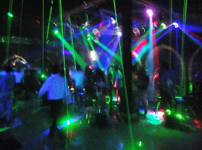 Disco at Yangon International Hotel