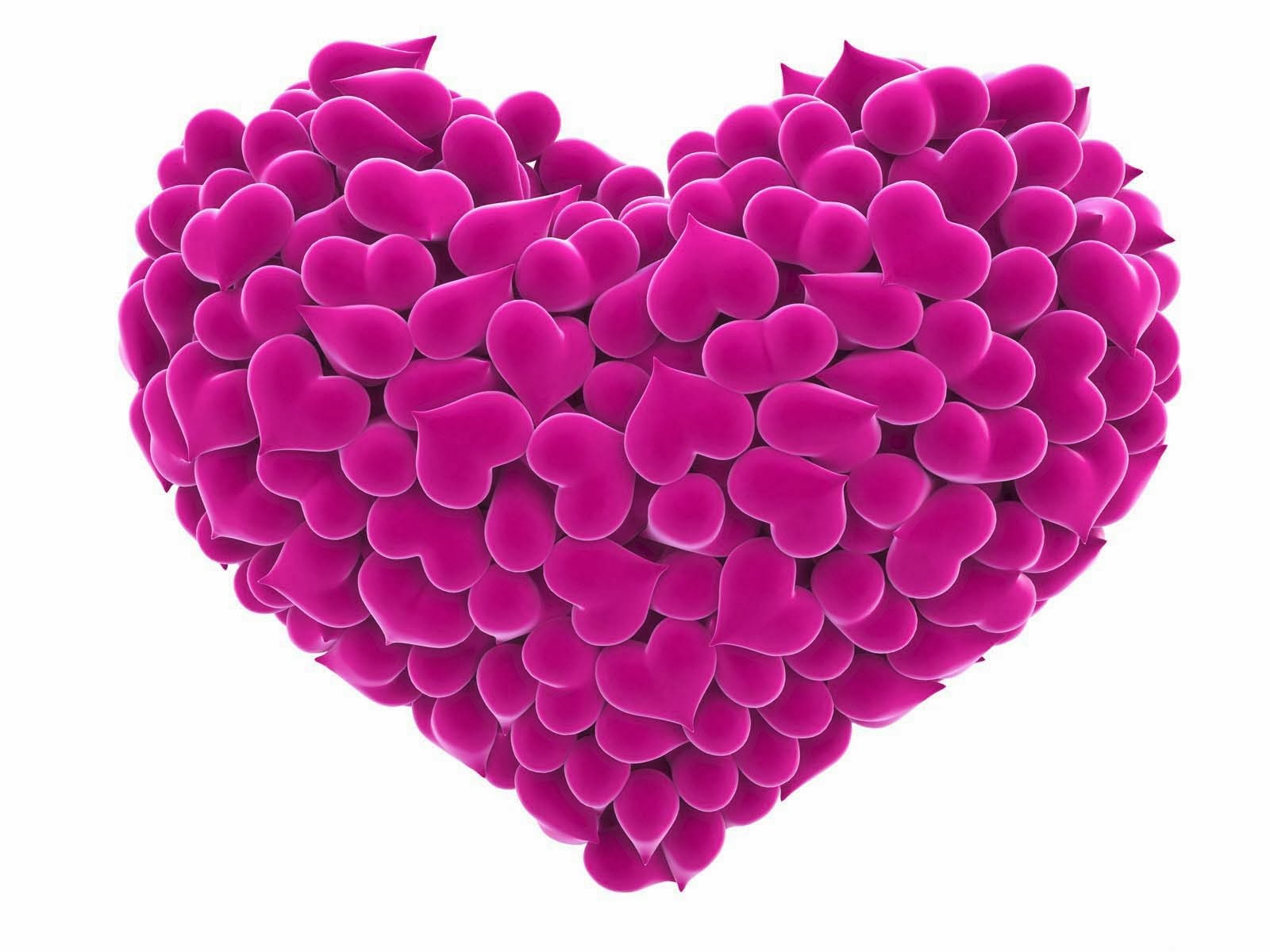 heart-love-pink-color-wallpaper