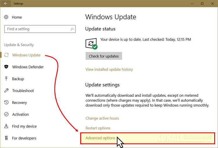 Windows 10 Fall Creators Update to allow Update delivery optimization (www.kunal-chowdhury.com)