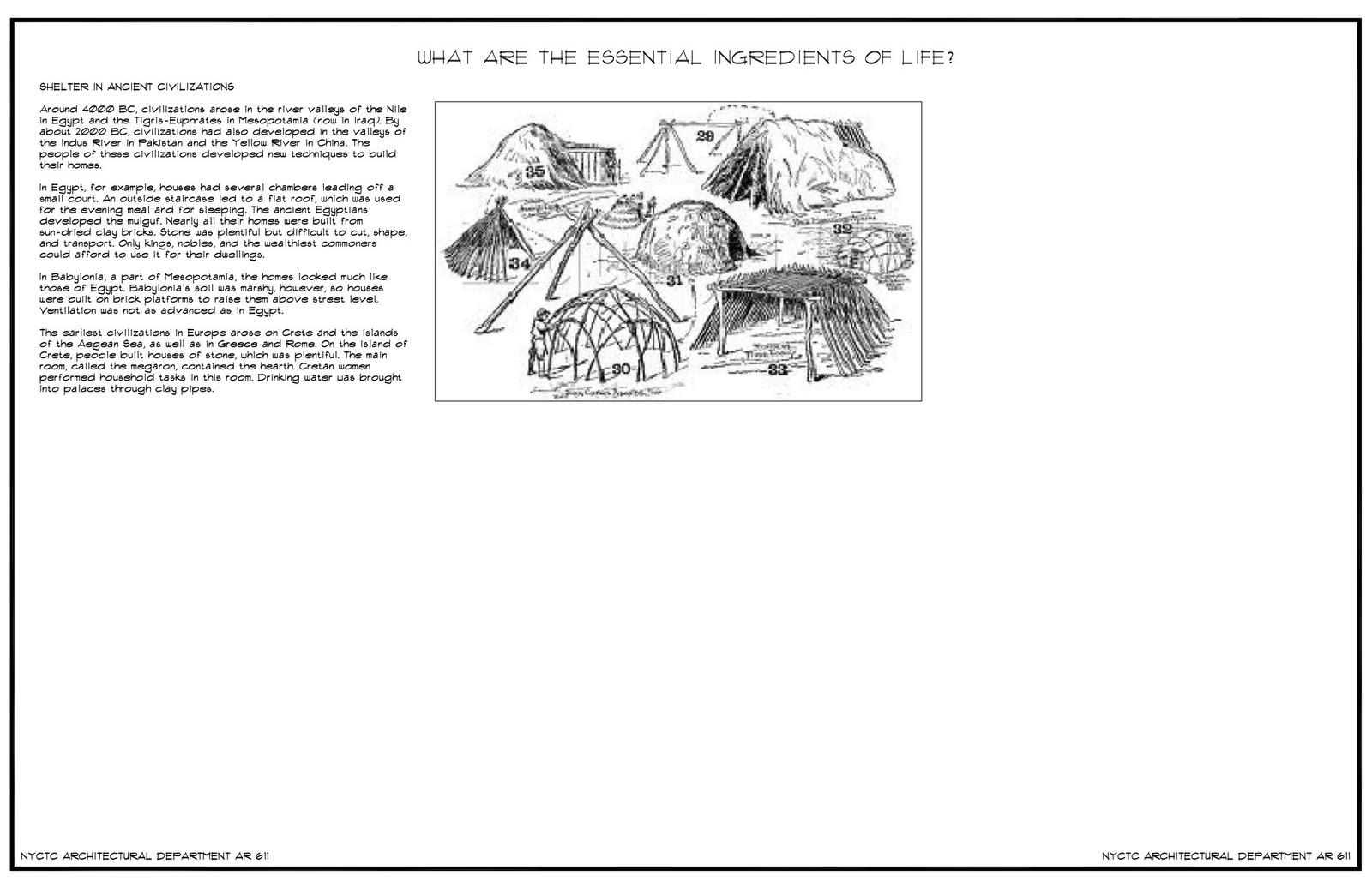 Theoretical Design- Spring '11: Jason Rivera (Life and