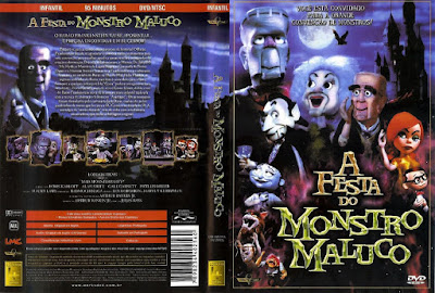Filme A Festa Do Monstro Maluco (Mad Monster Party) DVD Capa