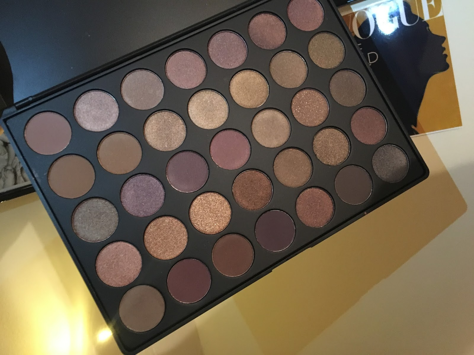 Morphe 35t Palette Review Swatches Luxe By Kate