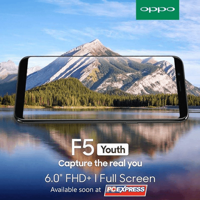 OPPO F5 Youth to launch in the Philippines soon?