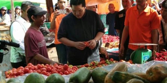 Erick Thohir tak Paham Ekonomi Emak-emak