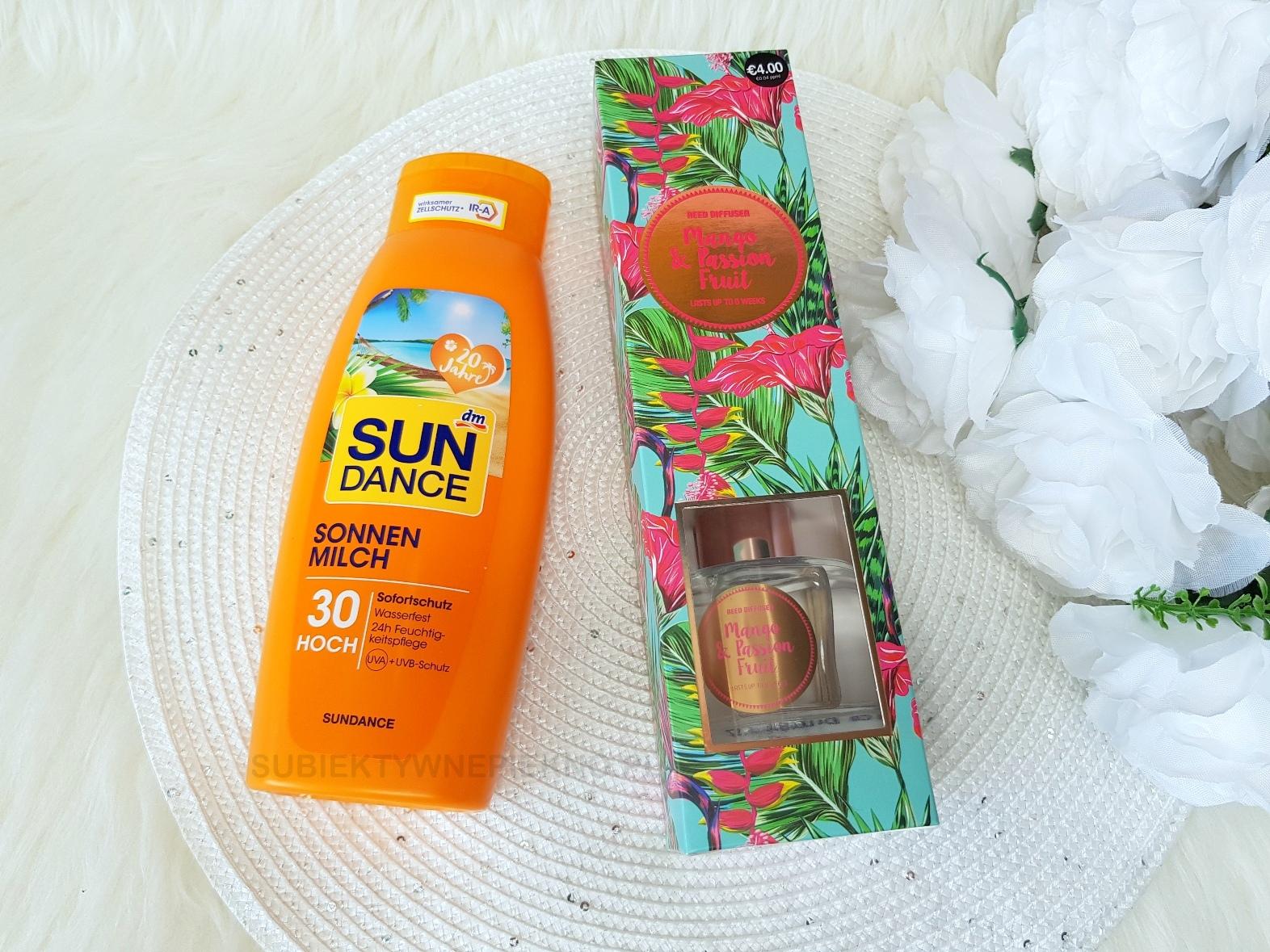 Zakupy DM i Primark - Sun Dance, patyczki zapachowe
