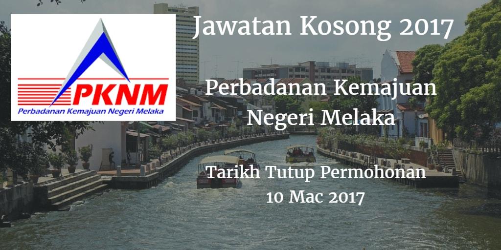 Jawatan Kosong PKNM 10 Mac 2017