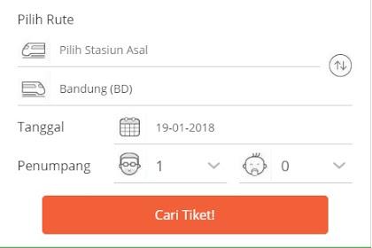Petunjuk lengkap cara pembelian dan pembayaran Tiket kereta (KAI) di Tokopedia