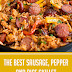 The Best Sausage, Pepper and Rice Skillet