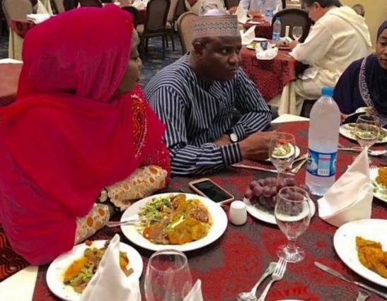 tambuwal wedding pictures