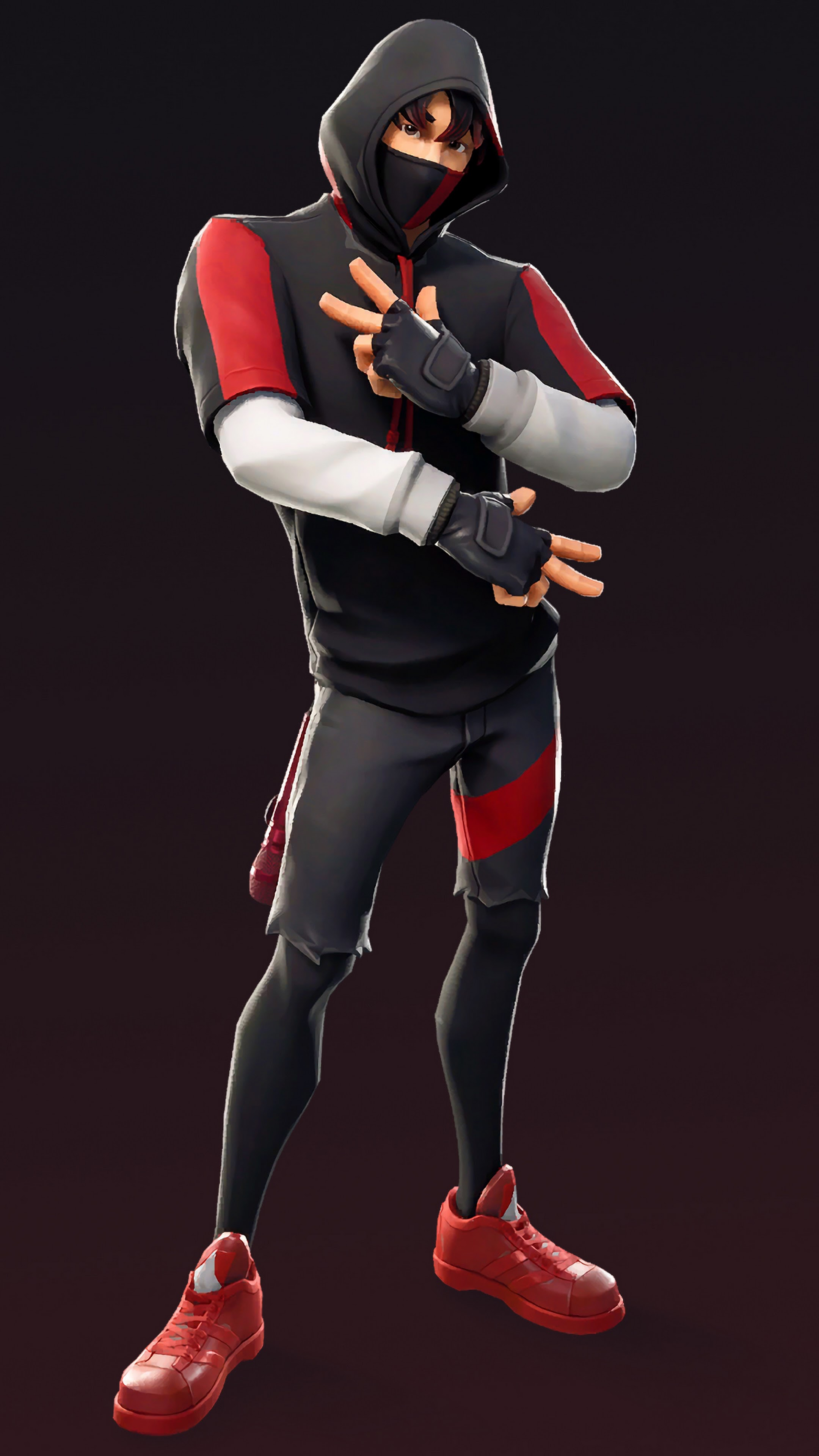 Fortnite Battle Royale Ikonik Outfit Skin Samsung S10 4k Wallpaper 94
