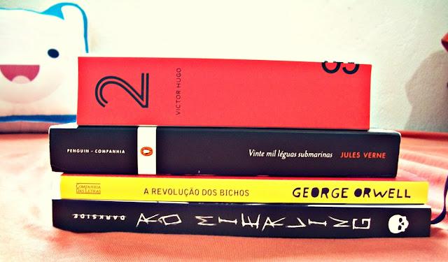 {METAS DE LEITURA} 5 livros para 2017