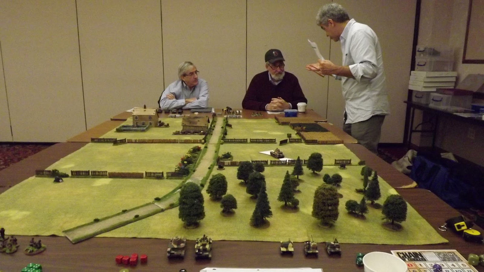 AJ's Wargaming Blog: Northern Conspiracy January 2018 Game Night