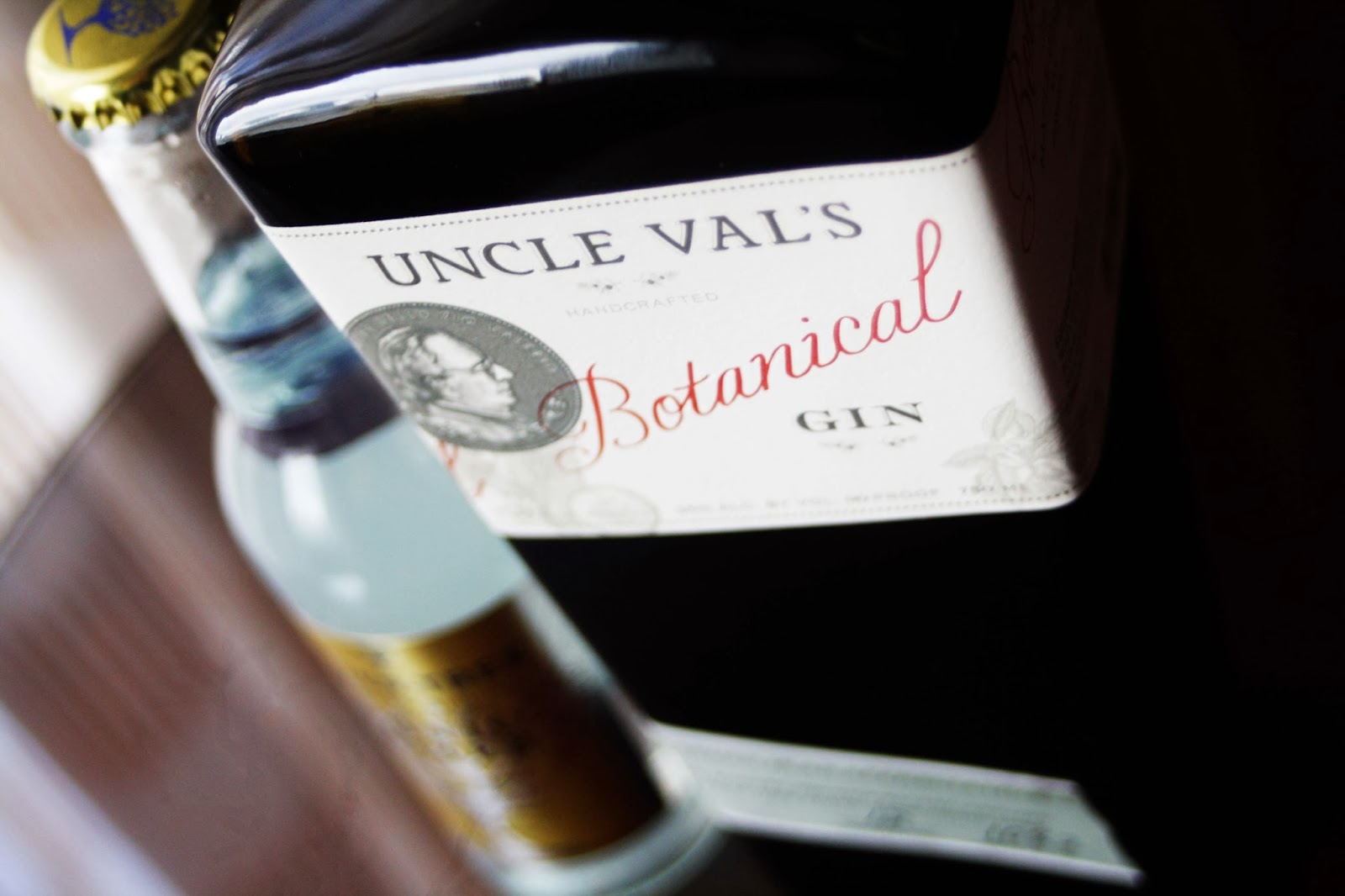 uncle val's botanical gin and fever tree tonic