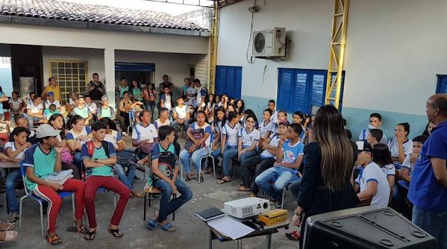 """MPE/AL continua com atividades do projeto """"Paz nas Escolas"""", em Santana do Ipanema"""