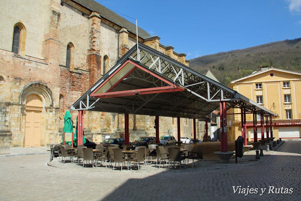 Iglesia  de Saint Volusien, Foix, Francia