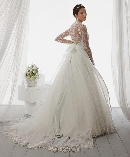 abito principesco Le Spose di Giò 2014 e suggerimenti temi matrimonio