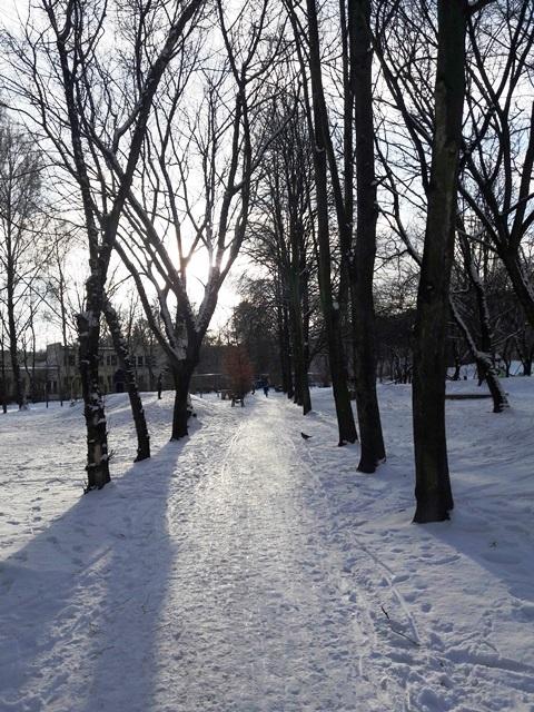 zima w Słupsku, blogo ze Słupska, jak żyje się w Słupsku
