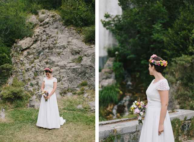 boda blog novia montaña pirineo huesca suma cruz corona flores moutain wedding