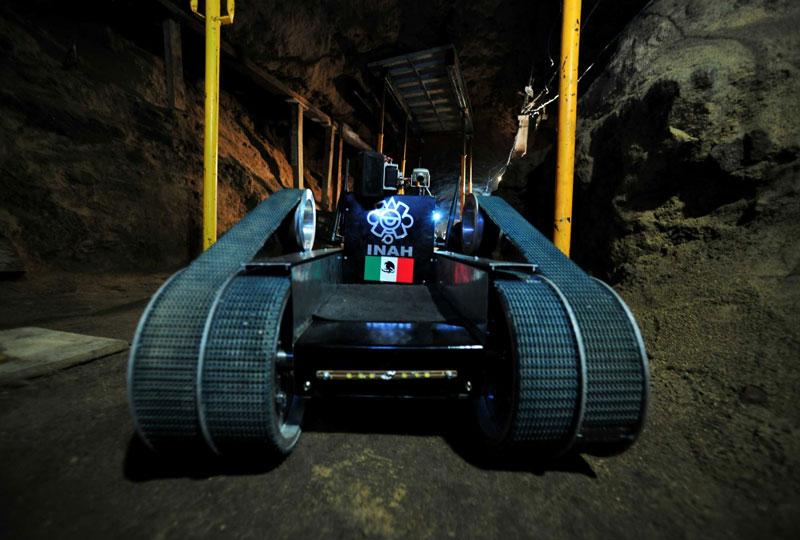Risultati immagini per NUEVO ROBOT RECORRERÁ ÚLTIMO TRAMO DEL TÚNEL DE TEOTIHUACAN