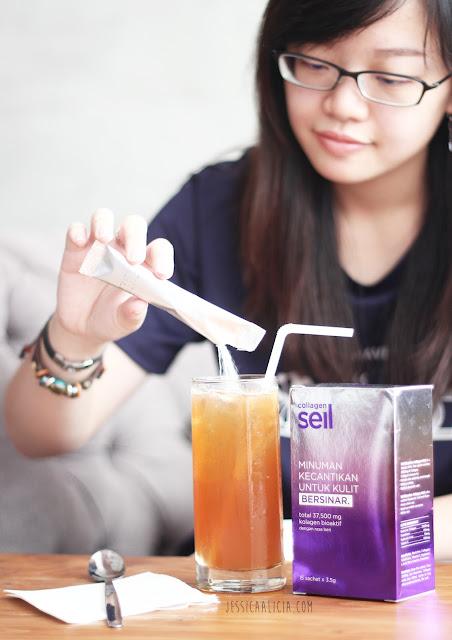 Kulit Bersinar dengan Seil Collagen by Jessica Alicia