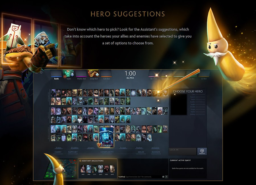 dota plus valve hero suggestions