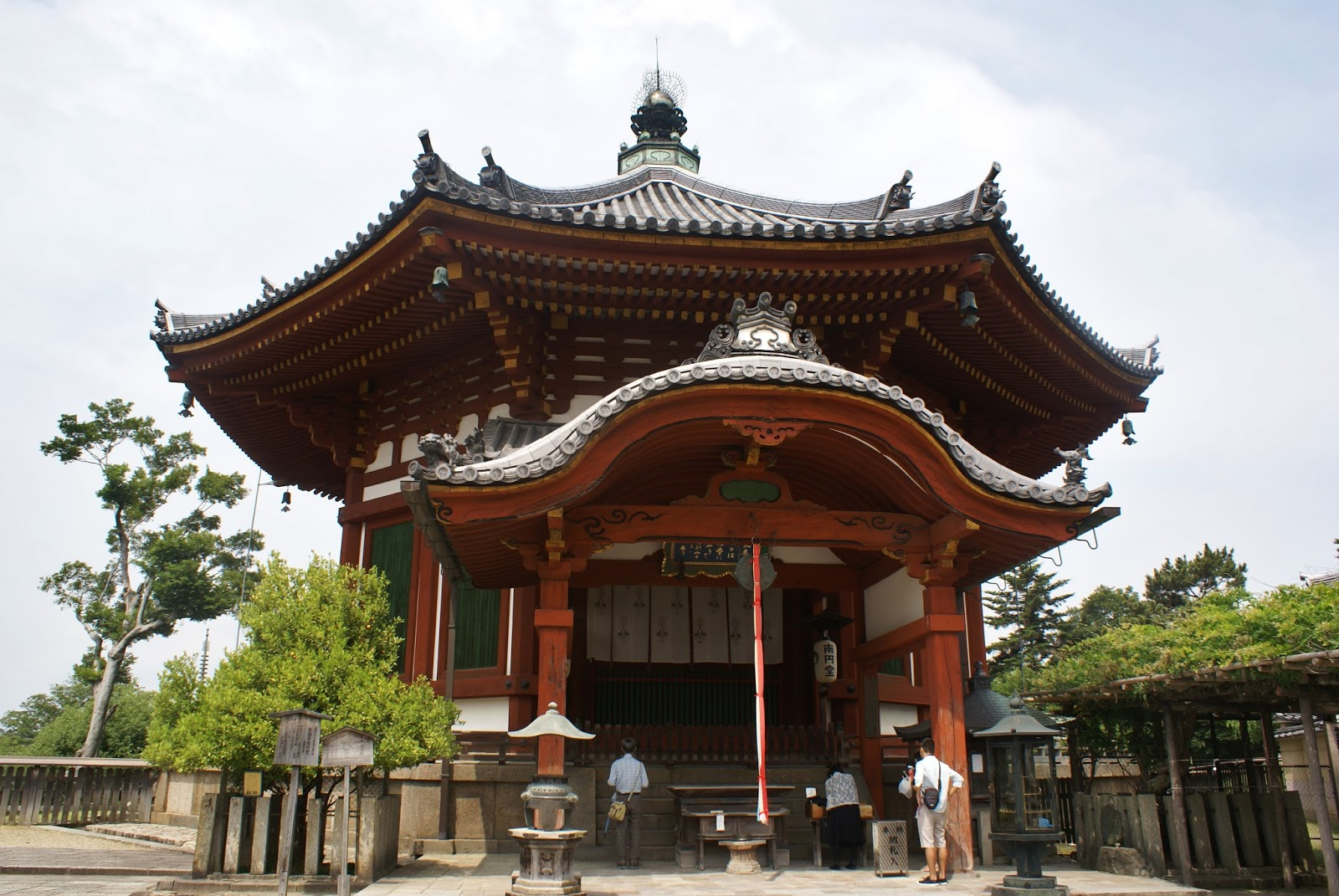 nara kofuku ji temple buddhist japan asia